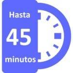 45 minutos